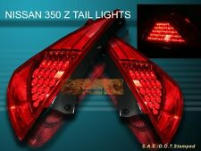 FIt For 2003 2004 2005 2006  350Z Z33 FAIRLADY RED LED TAIL LIGHTS