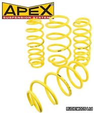 Apex 30mm Lowering Springs to fit BMW 3 Series E30 saloon 316i 318i