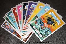 GARBAGE PAIL KIDS FLASHBACK 2 ADAM BOMB MANIA SILVER SET 10/10 CARDS RARE GPK