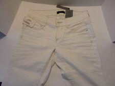 FireTrap Slim Tapered White Denim Jean 24 L