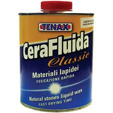 Cera Fluida Clear 1 Liter Liquid Stone Wax From Tenax