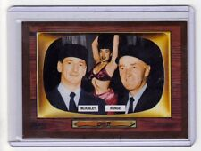 Color TV '55 Umpires Ed Runge & Bill McKinley, the stripper scandal #412