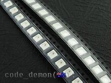 5050 RGB LED SMD SMT Common AnodeTri Colour Ultra Bright (x10) - Arduino / AVR