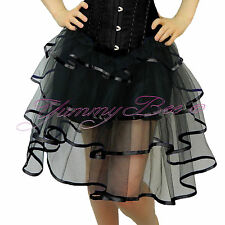 Skirt Fancy Dress Burlesque Women Frilly Tulle Long Tutu Costume Plus Size 6-28