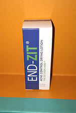 END ZIT Acne Control Drying Lotion - Medium Dark  0.5oz NEW IN BOX & FRESH