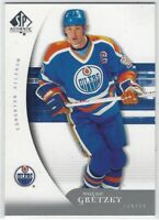 2005-06 SP AUTHENTIC WAYNE GRETZKY #42 EDMONTON OILERS!
