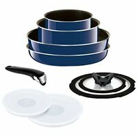T-FAL frying pan 9-point set detachable handle Ingenio Neo Grand BLUE New Japan