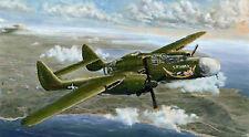 "Avion de chasse NORTHROP P-61A ""BLACK WIDOW""- KIT GREAT WALL HOBBY 1/48 n° 4806"