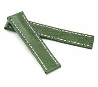 BOB Marino Vintage Calf Deployment Strap for Breitling, 20-22 mm, 7 colors, new!