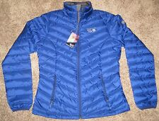 BLUE BLACK Womens S Mountain Hardwear Micratio Q-Shield Down Winter Jacket Coat