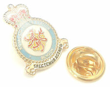 RAF Benson Crest Enamel Lapel Pin Badge