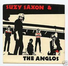 "Suzy Saxon & The Anglos/Boys In Dresses (Tonight) +  2 (U.S./7"" Vinyl Record)"