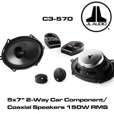 "JL Audio C3-570 - 5""x7"" 6'x8' Component/Coaxial Speakers Changeable Speaker 150W"