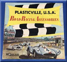 PLASTICVILLE USA ROAD RACING ACCESSORIES SLOT CAR BUILDINGS MASTER KIT 4700-498