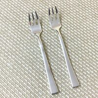 Christofle Concorde Silver Plated Oyster Salad Forks Cutlery Flatware 15.5cm