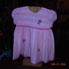 ROBE FILLETTE ROSE VINTAGE 70 / VINTAGE 70 PINK DRESS