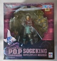 Megahouse One Piece P.O.P NEO-5 Sogeking Usopp PVC Figure from JAPAN F/S