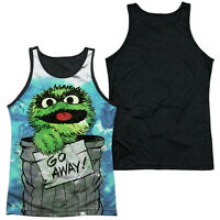 SESAME STREET OSCAR THE GROUCH CAN IT Licensed Adult Men's Tank Top Tee SM-3XL