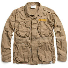 G-STAR RAW BY MARC NEWSON LIGHT OVERSHIRT JACKET MILITARY LION SIZE L  RRP $360
