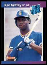 1989 Donruss Rated Rookie Ken Griffey JR. RC Mariners #33 - Mint