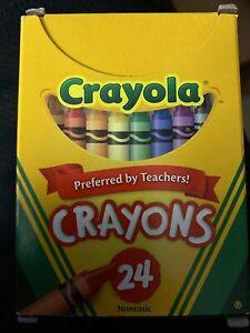 Crayola Regular Crayons 24-Color Set  - 24 Colors
