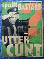 Billy Childish-Boris Johnson I want my own plane & I want it now just 31 made.