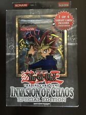 Brand New Yu-Gi-Oh! Invasion of Chaos Special Edition Pack
