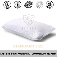 2 x Standard Size, Allergy, Bed Bug & Dust Mite, Pillow Protector & Cover