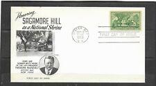 1953 US Fleetwood FDC Scott #1023 Sagamore Hill, Oyster Bay, NY Unaddressed
