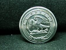 Eagle On Crane Clan Graham Sco. w Motto 25mm S/P Livery Button Firmin c 1880