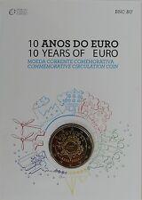 2 Euro commémorative de Portugal 2012 Brillant Universel (BU) - 10 Ans de l'Euro