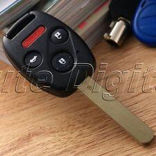 4 BTN Keyless Remote Ignition Key Fob for 2003-2007 Honda Accord 850G-G8D380HA