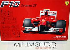 KIT FERRARI F10 GERMAN GP 2010 ALONSO MASSA 1/20 FUJIMI GP41 09094
