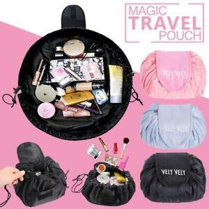 Toiletry Bag Lazy Makeup Bag Quick Pack Waterproof Travel Drawstring Storage