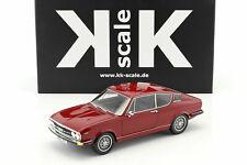 AUDI 100 COUPE S 1971 C1 DARK RED KK SCALE KKRE18002 1/18 RESINE RESIN 500 PCS