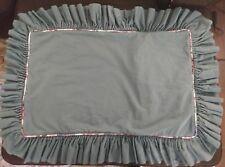 Custom Made King Size Pillow Shams With Ruffles