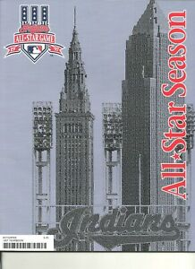 1997 Cleveland Indians Yearbook MLB All Star Game Jim Thome Manny Ramirez Belle