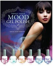 LeChat Perfect Match Mood Changing Gel Nail Polish 6 Color Set MG01 - MG06