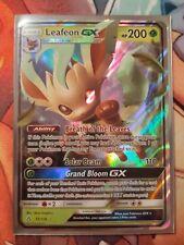 NM Leafeon GX . Pokemon Ultra Prism