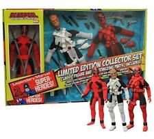 "Deadpool 8"" Retro Action Figure Collector Set Marvel Wade Wilson Mego"