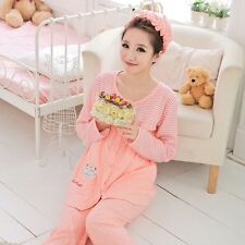 Pregnant Women Comfy Set Feeding Nursing Sleepwear Loungewear Maternity Pajama