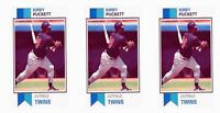 (3) 1993 SCD #47 Kirby Puckett Baseball Card Lot Minnesota Twins