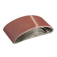 Véritable Silverline Ponçage Ceintures 100 x 610mm 5pk 80 Cran 363320