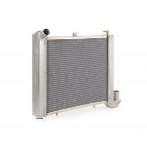 Be Cool 60003 Radiator For 63-72 Chevy Corvette GM w/Std Trans Natural Finish