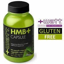 +WATT HMB+ 90cps Metabolita L-Leucina Previene Catabolismo Muscolare