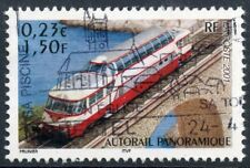 STAMP / TIMBRE FRANCE OBLITERE N° 3413 CHEMIN DE FER TRAIN AUTORAIL PANORAMIQUE