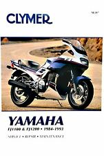 Yamaha FJ1200, 1990 1991 1992 1993, Clymer Shop, Repair Manual - FJ 1200