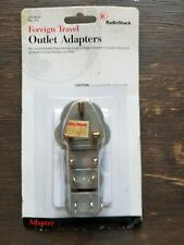 Foreign Travel Outlet Adapters