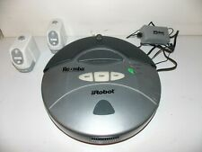iRobot Roomba Vacuuming Robot 2.1 Model 4150 with charger and 2 virtual walls