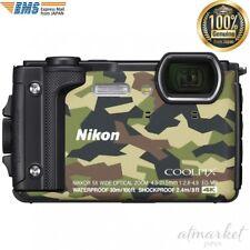 Nikon Digital Camera W300GR COOLPIX Camouflage Waterproof genuine from JAPAN NEW